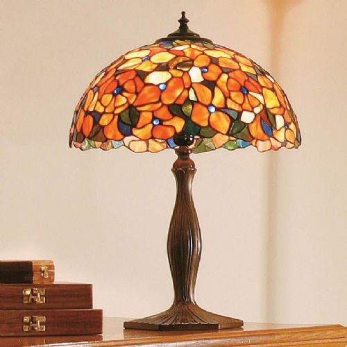 Josette Large Table Lamp (Nature, Traditional, Large Table lamp) TV38T (Tiffany style)
